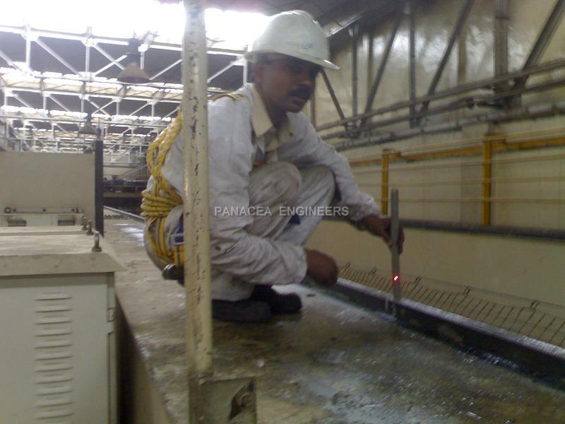 Gantry Rail Survey And Repairs Gantry Rail Repair Gantry